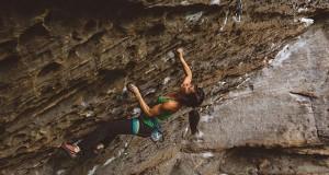 Katherine Choong & Jim Zimmermann Climbing