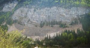 Falaise de Falaise de la Puya - Falaise de la Puya