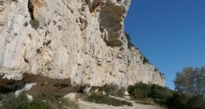 Falaise de Claret -