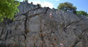 Falaise de Pont d'Auzon -