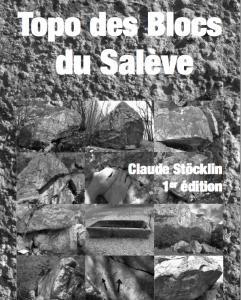 Topo falaise - Blocs du Salève -