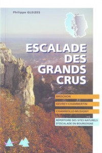 Topo falaise - Escalade des Grands Crus -