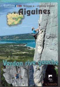 Topo falaise - Grimper à Aiguines – Verdon rive gauche -