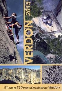 Topo falaise - Verdon – 51 ans & 510 voies -