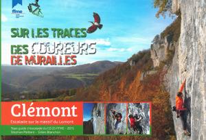 Topo falaise - Clémont, Escalade sur le massif du Lomont -