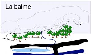 Topo falaise - La Balme de Yenne -