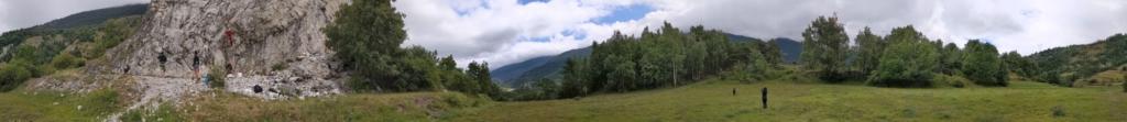 Falaise - Rocher des amoureux - Panoramic rocher des amoureux  - Par Seb