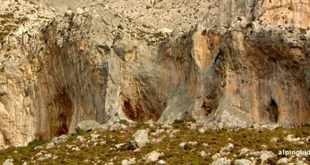 Falaise de Kalymnos – Secteur Odyssey -