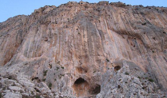 Falaise de Kalymnos – Secteur Spartan Wall -