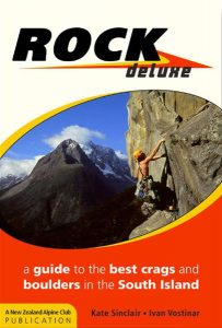 Topo falaise - Rock Deluxe South Island -