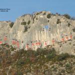 Falaise - Col du Roux - Vu générale de la falaise - Par Kiki EMPRIN