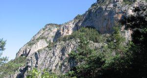 Falaise de Les Herbez -