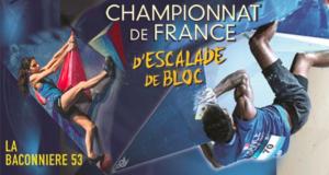 Toutes les infos sur les Championnats de France seniors de blocs 2017 !