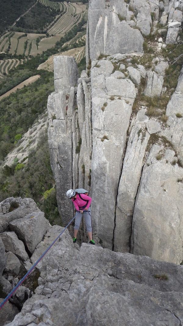 Rencontre femme qui aime l'escalade