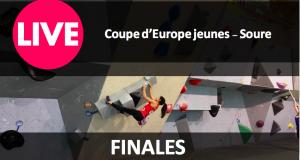 LIVE: Finales Coupe d'Europe jeunes de bloc – Soure