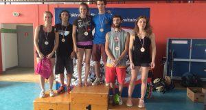 Julia Chanourdie et Lucas Kaiser champions de France Universitaires en bloc
