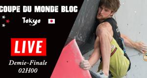 LIVE: Demi-finales Coupe du Monde de bloc de Tokyo | 02h00
