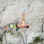 Seb Bouin libère une nouvelle voie extrême au Pic Saint Loup