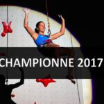 Anouck Jaubert, championne mondiale d'escalade de vitesse !