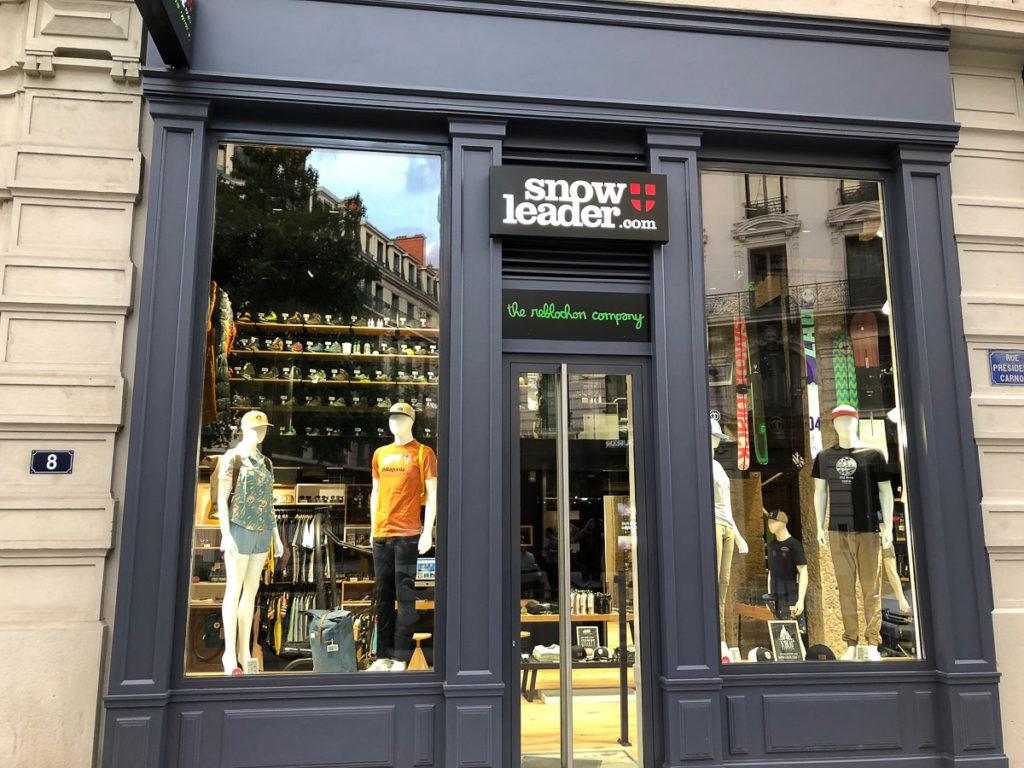 Une boutique snowleader ouvre ses portes lyon for Idee boutique a ouvrir
