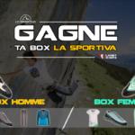 Jeu concours: Gagne ta «Box La Sportiva»