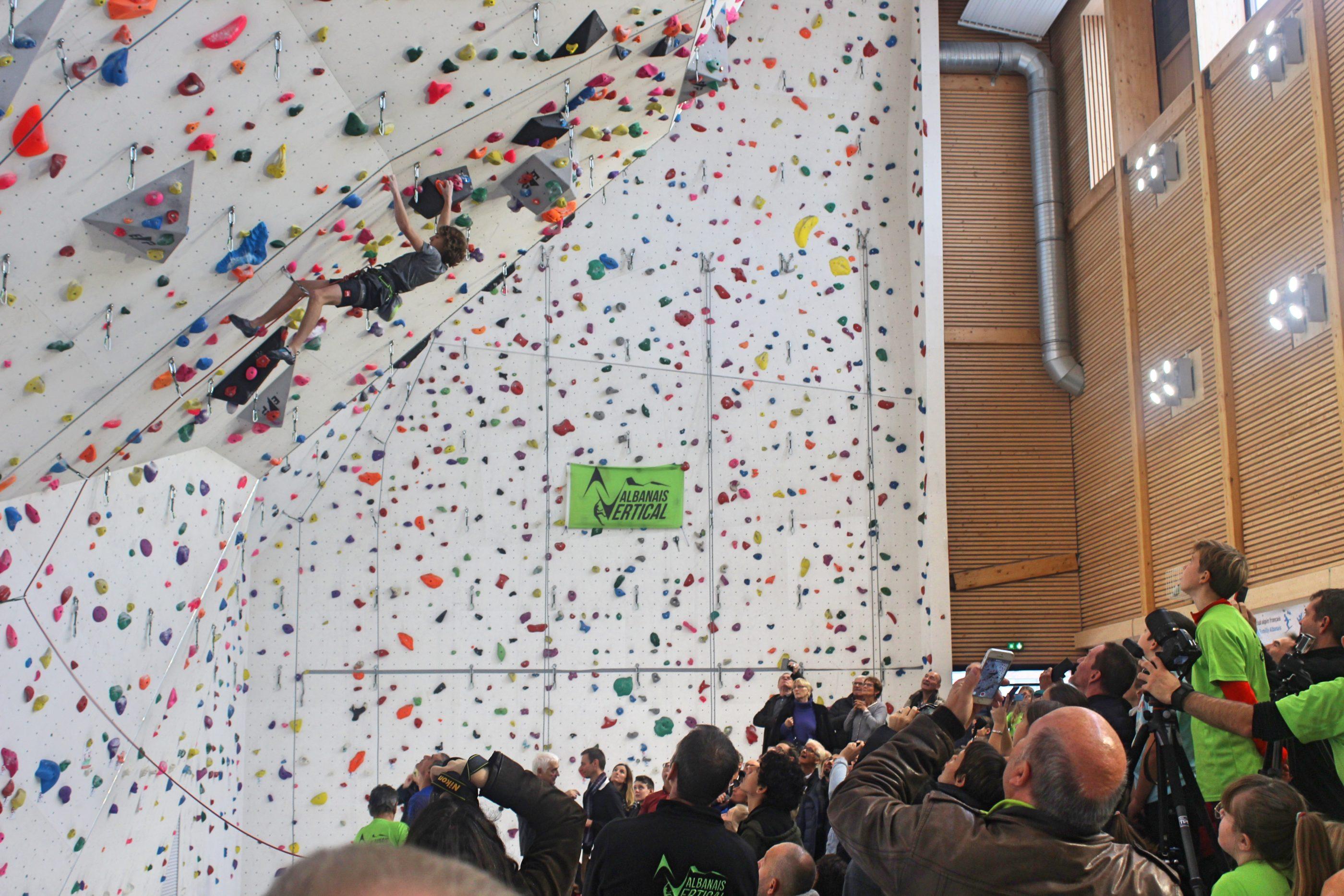 Inauguration D Une Nouvelle Salle D Escalade A Rumilly En Haute